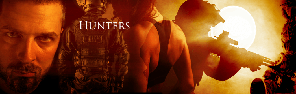 Vampire hunter banner with General Felix Highlander and his army