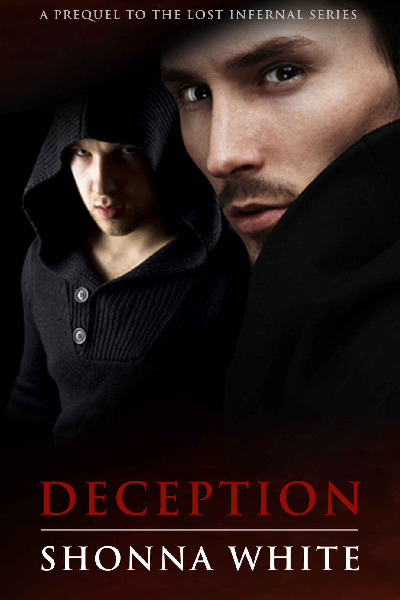 Cover Page for Vampire / Hunter novel series Lost Infernal Prequel - Deception