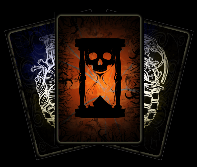 Tarot car of the Chained Soul - Lost Infernal