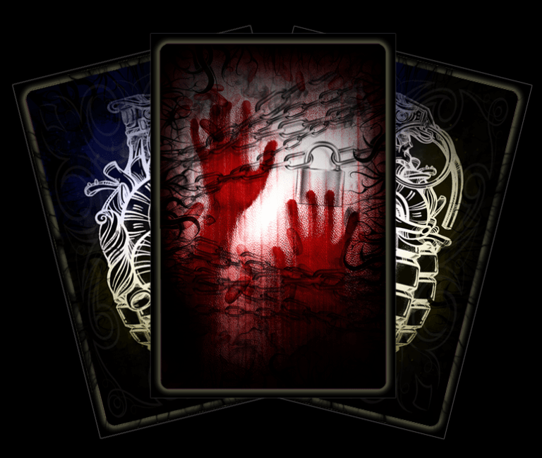 Tarot card of the Tortured Love - Lost Infernal