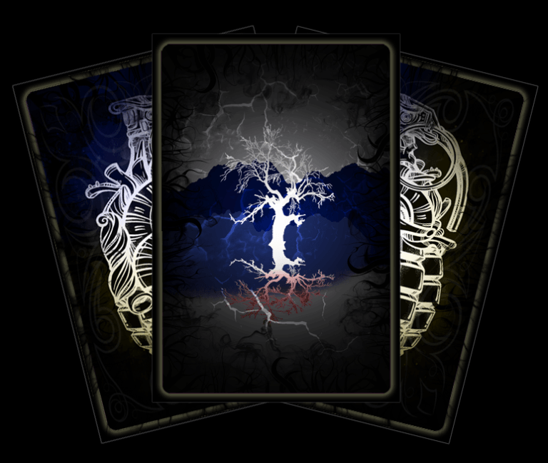Tarot of the lone guardian