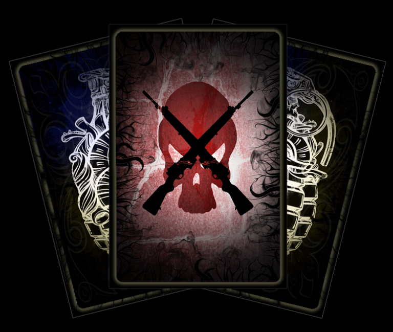 Tarot of the stone soldier card