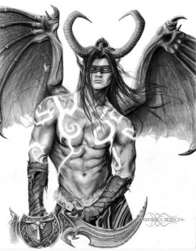 (2015) Illidan Stormrage - World of Warcraft (Video Game)