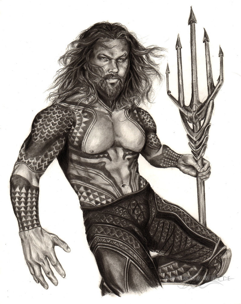 (2018) Jason Momoa - Aquaman - DC Comics, Justice League